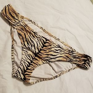 Victoria's Secret Tiger Print Bikini Bottoms